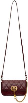 Givenchy Burgundy Mini Pocket Bag