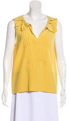 Marni Sleeveless Silk Top