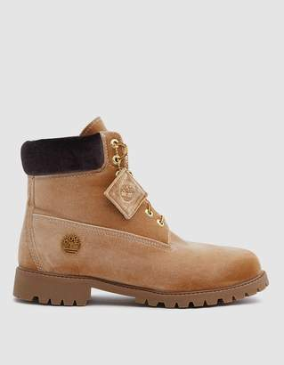 Off-White Off White Timberland Boot in Camel Brown
