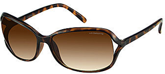 Liz Claiborne Drama Rectangle Sunglasses