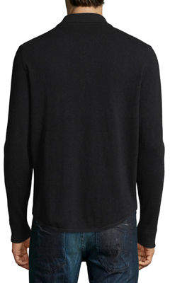 Neiman Marcus Men's Knit Button-Down Sweater