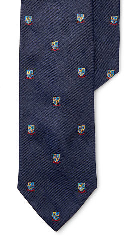 Polo Ralph LaurenPolo Ralph Lauren Silk Repp Narrow Club Tie