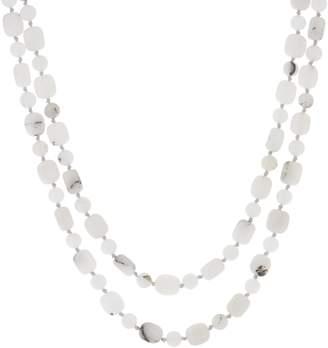 "Lola Rose Bella 60"" Gemstone Adjustable Necklace"