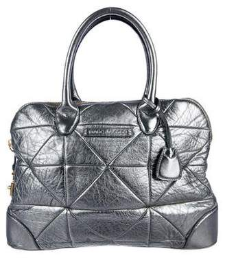 Marc Jacobs Metallic Quilted Handle Bag