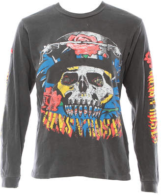 N. MadeWorn Guns Roses Long Sleeve Tee