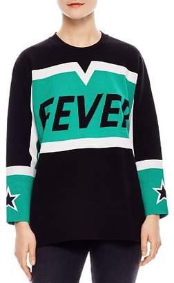 Sandro Jasmin Fever Color-Blocked Sweater
