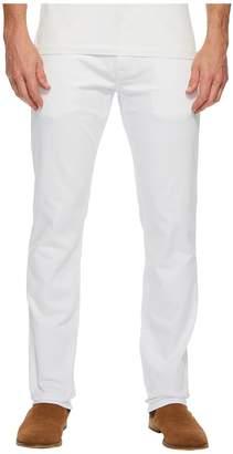 Mavi Jeans Marcus Regular Rise Slim Straight Leg in White Williamsburg Men's Jeans
