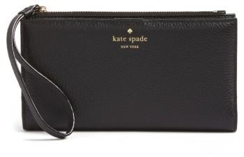 Women's Kate Spade New York Young Lane - Eliza Leather Wallet - Black