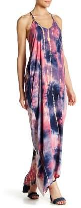 Love Stitch Tie Die Maxi Dress