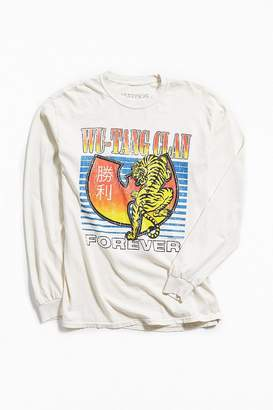Urban Outfitters Wu-Tang Clan Tiger Long Sleeve Tee
