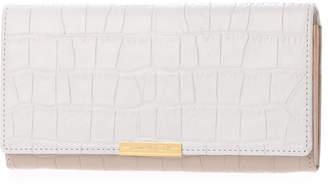 CAL (カル) - カル Cal クロコ型押しカブセ長財布