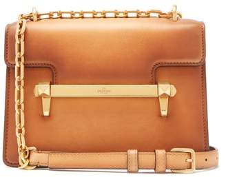 Valentino Uptown Small Leather Cross Body Bag - Womens - Tan