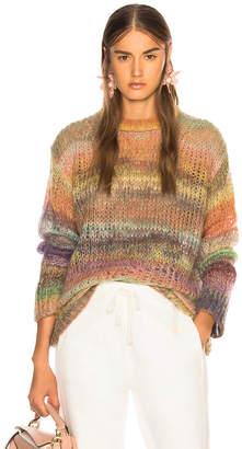 Acne Studios Long Striped Sweater