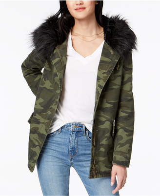 Joujou Jou Jou Juniors' Faux-Fur-Lined Hooded Anorak