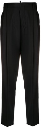 DSQUARED2 tapered pleated trousers