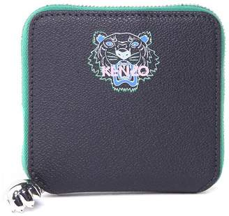 Kenzo Tiger Faux-leather Wallet
