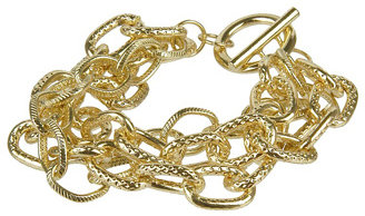 Dimpled Chain Bracelet