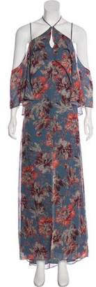 Intermix Silk Floral Dress
