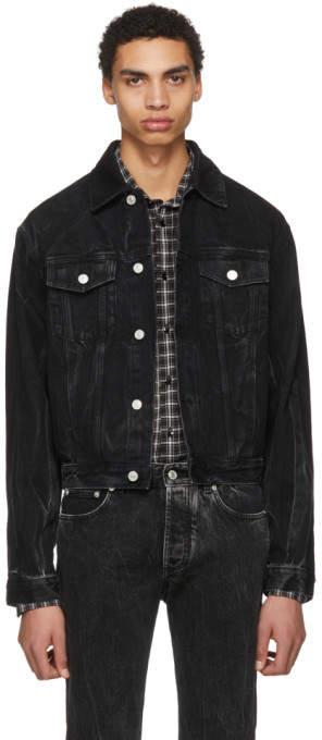 Black Vintage Denim Jacket