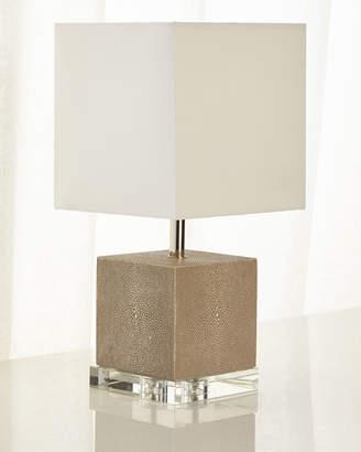 Regina-Andrew Design Regina Andrew Design Sacha Shagreen Mini Lamp