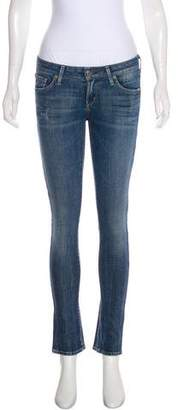 Citizens of Humanity Mid-Rise Straight-Leg Jeans