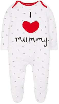 Mothercare Baby Unisex Mummy & Daddy Bodysuit,(Size: 68)