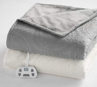 Pottery Barn Medallion Heated Blanket