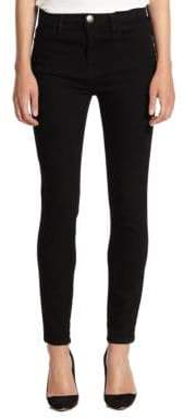 Current/Elliott The High-Waist Stiletto Skinny Jeans