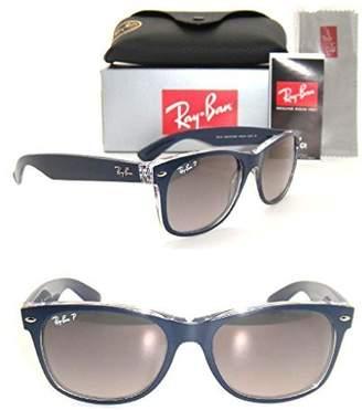 Ray-Ban Authentic New Wayfarer RB 2132 6053/M3 Blue/Grey Gradient Polarized