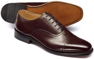 Charles Tyrwhitt Chocolate Goodyear Welted Oxford Shoe Size 11.5