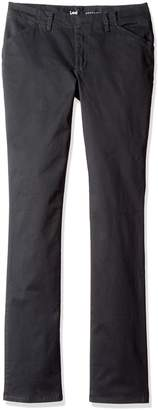 Lee Women's Size Petite Tall Midrise Fit Essential Chino Pant
