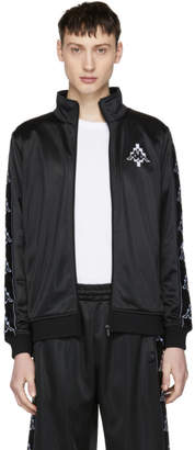 Marcelo Burlon County of Milan Black Kappa Edition Tape Track Jacket
