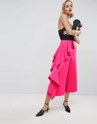 Asos Formal PANTS With Frill Side