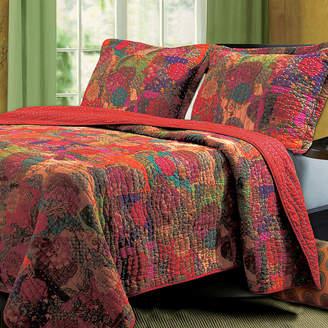 Greenland HOME FASHIONS Home Fashions Jewel Bohemian Quilt Set