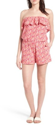 Women's Vineyard Vines Strapless Stretch Knit Romper $98 thestylecure.com