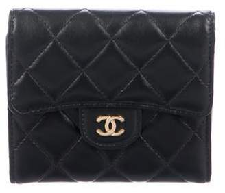 Chanel 2019 Classic Small Flap Wallet Black 2019 Classic Small Flap Wallet