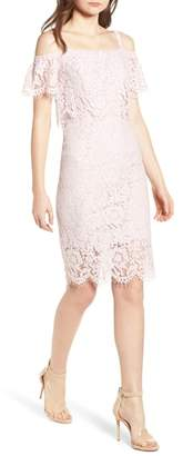 Soprano Popover Lace Dress
