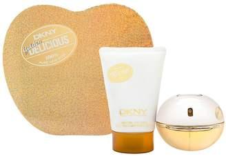 Donna Karan DKNY Golden Delicious by Donna Karen for Women 2 Piece Set Includes: 1.7 oz Eau de Parfum Spray + 3.4 oz Shimmering Body Lotion