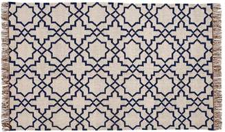Pottery Barn Beverly Synthetic Rug - Cool Multi