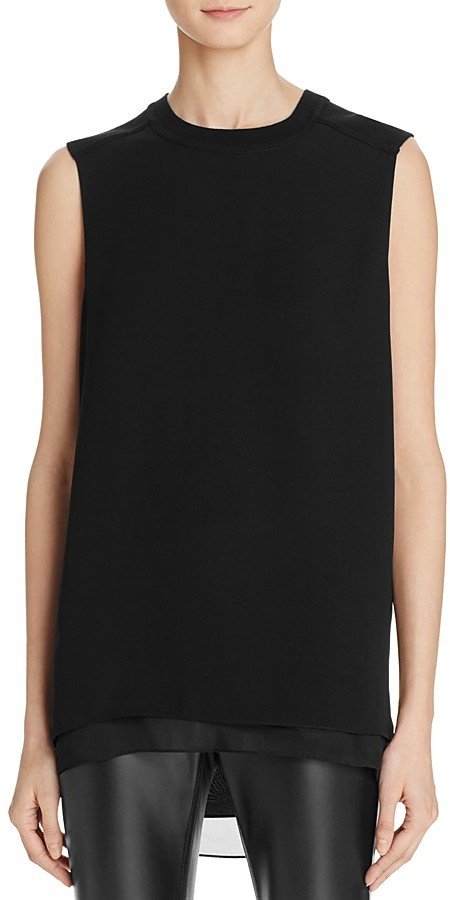 DKNY DKNY Step-Hem Sleeveless Top