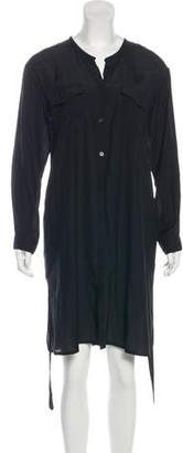 Hope Silk Blend Knee-Length Dress
