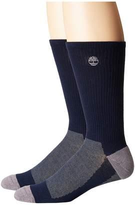 Timberland 2-Pair Pack Coolmax Crew Men's Crew Cut Socks Shoes