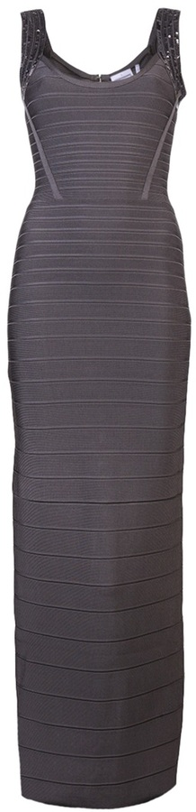 Herve Leger Elise Shadow Gown