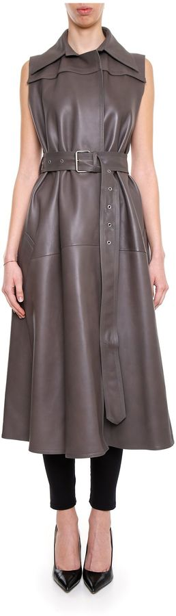 CelineLeather Coat