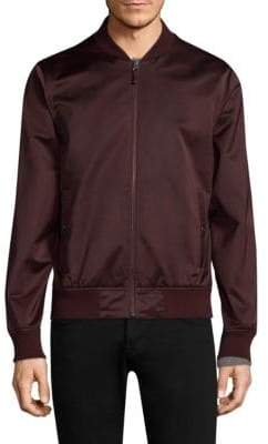 Bonobos Slim-Fit Moto Bomber Jacket