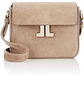 Lanvin Women's JL Mini Suede Crossbody Bag - Gray