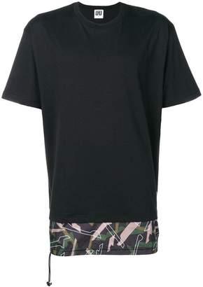 Les Hommes Urban layered T-shirt