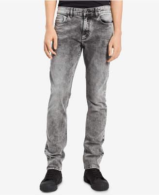 Calvin Klein Jeans Men's Storm Ash Skinny-Fit Stretch Jeans