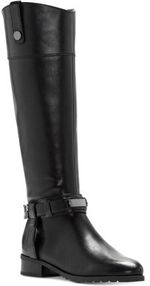INC International Concepts Women's Fabbaa Tall Wide-Calf Boots, Only at Macy's $189.50 thestylecure.com