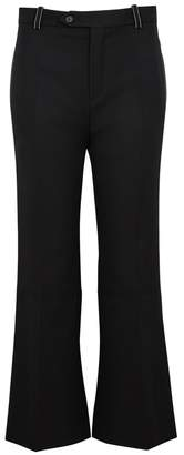 Chloé Black Cropped Twill Trousers